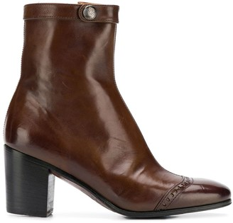 Alberto Fasciani heeled ankle boots