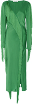 Diane von Furstenberg Wraparound Fringe Dress
