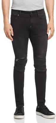 G Star 5620 3D Zip-Knee Skinny Fit Jeans in New Dark Aged