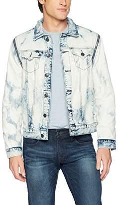 True Religion Men's Danny Convertible Denim Jacket