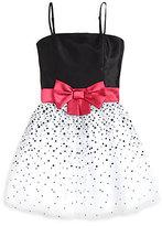 Un Deux Trois Girl's Polka Dot Dress
