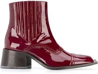 Martine Rose Ankle Boots