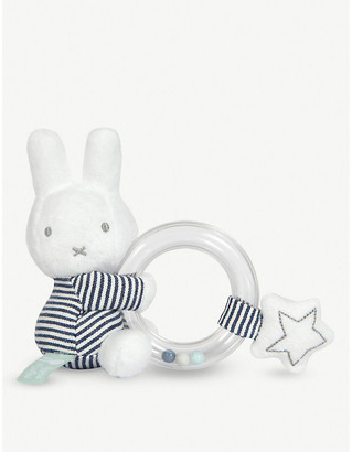 Miffy Stripes ring rattle 12cm