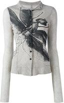 Rundholz Black Label - bug print cardigan - women - Cotton - S