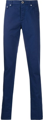 Brunello Cucinelli Slim-Fit Embroidered Logo Jeans
