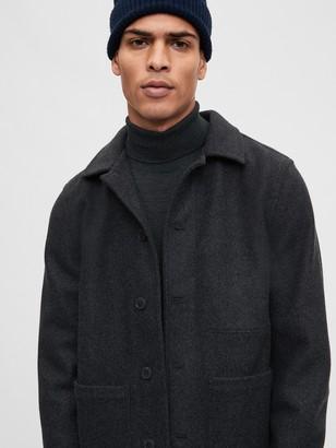 Gap Double Knit Chore Jacket