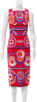 Peter Pilotto Printed Sheath Dress