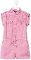 Tommy Hilfiger Junior - shirt playsuit - kids - Lyocell - 8 yrs