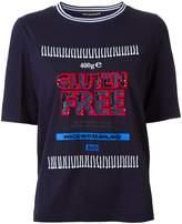 Muveil 'gluten free' print T-shirt