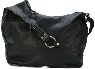 Guidi Zipped Messenger Bag