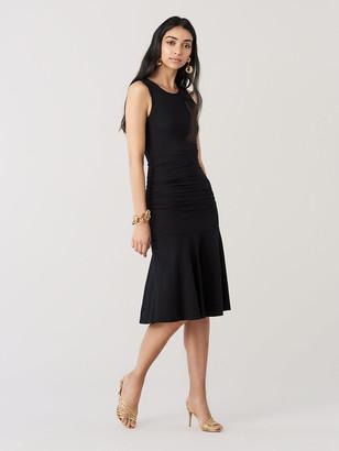 Diane von Furstenberg Jace Jersey-Blend Knee-Length Dress