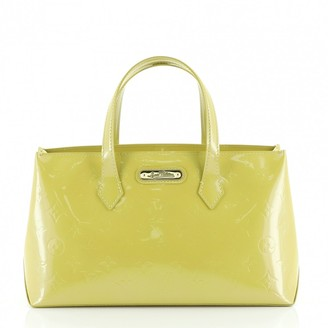 Louis Vuitton Wilshire Green Leather Handbags