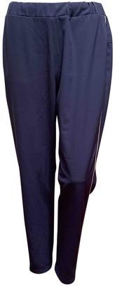 Fabiana Filippi Blue Trousers for Women