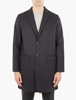 A.P.C. Navy Cashmere-Blend Primrose Coat