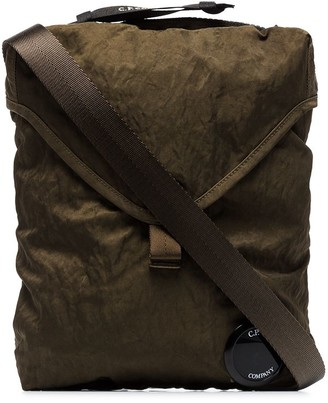 C.P. Company Green Messenger Bag