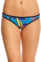 Roxy Pop Surf Polynesia Surfer Print Bikini Bottom 8142177