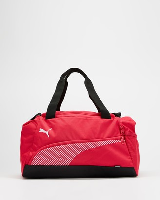Puma Pink Duffle Bags - Fundamentals Sports Bag - Small - Size One Size, 27 at The Iconic