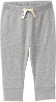 Gymboree Classic Gray Heather Bumblee-Accent Leggings - Infant