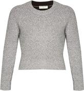 Balenciaga Round-neck cropped sweater