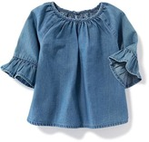 Old Navy Chambray Bell-Sleeve Top for Baby