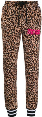 Versace Leopard Print Track Trousers