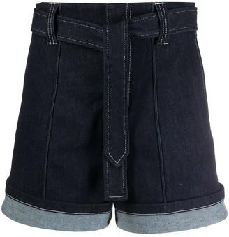Chloé Nautical Denim Shorts