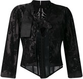 Thumbnail for your product : Dolce & Gabbana Lace-Embellished Corset Jacket