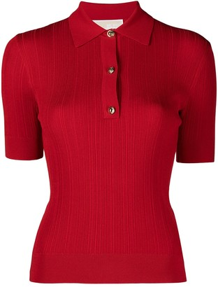 MICHAEL Michael Kors Ribbed Polo Shirt