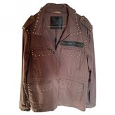 Philipp Plein Green Denim - Jeans Jacket for Women