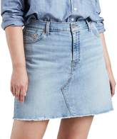 Levi's Levis Plus Size Distressed Denim Skirt