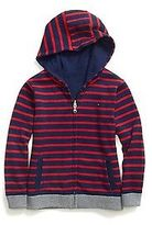 Tommy Hilfiger Little Boy's Stripe Reversible Hoodie