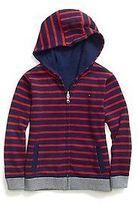 Tommy Hilfiger Little Boy's Stripe Reversible Hoodie