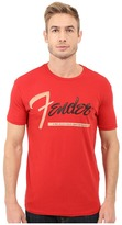 Lucky Brand Fender Stripe Graphic Tee