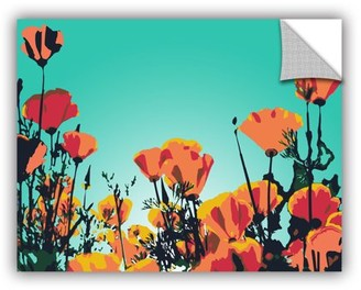 ArtWall Turquoise Sky Removable Wall Art Mural