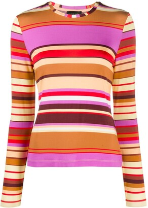 Stine Goya Striped Print Top