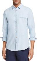 BOSS ORANGE Chambray Regular Fit Button-Down Shirt