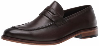 Marc Joseph New York Men's Gold Collection Peeny Loafer Leather Sole Penny