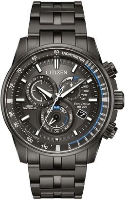 Citizen Eco-Drive Men's Gray Atomic TimekeepingWatch