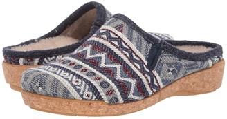 Taos Footwear Kick Off (Blue Multi) Women's Slippers
