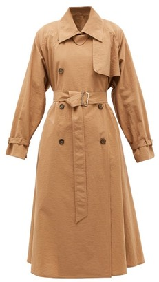 Max Mara Falster Trench Coat - Womens - Camel