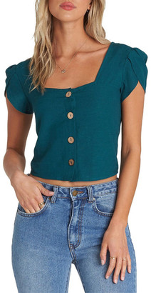 Billabong Something Special Cropped Tee