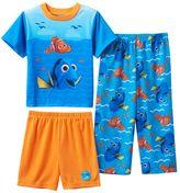 Disney Pixar Finding Dory & Nemo Toddler Boy Waves 3-pc. Pajama Set