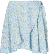 Denim & Supply Ralph Lauren Floral-Print Wrap Skirt
