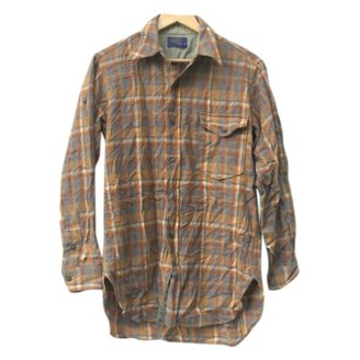 Pendleton Brown Wool Top for Women Vintage
