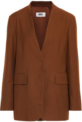 MM6 MAISON MARGIELA Wool And Cotton-blend Twill Blazer