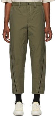 Issey Miyake Khaki Span Trousers