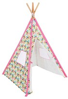 French Bull Teepee Tent - Multiflowers