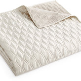 Hotel Collection Woven Texture King Coverlet