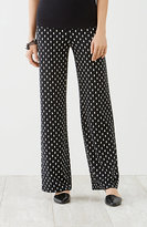 J. Jill Wearever Smooth-Fit Print Full-Leg Pants