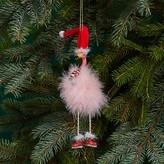 Kurt Adler Flamingo with Dangle Legs Ornament